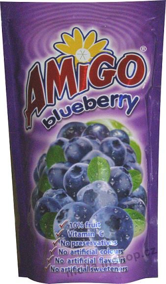 Amigo - very berry  0,2l/30ks