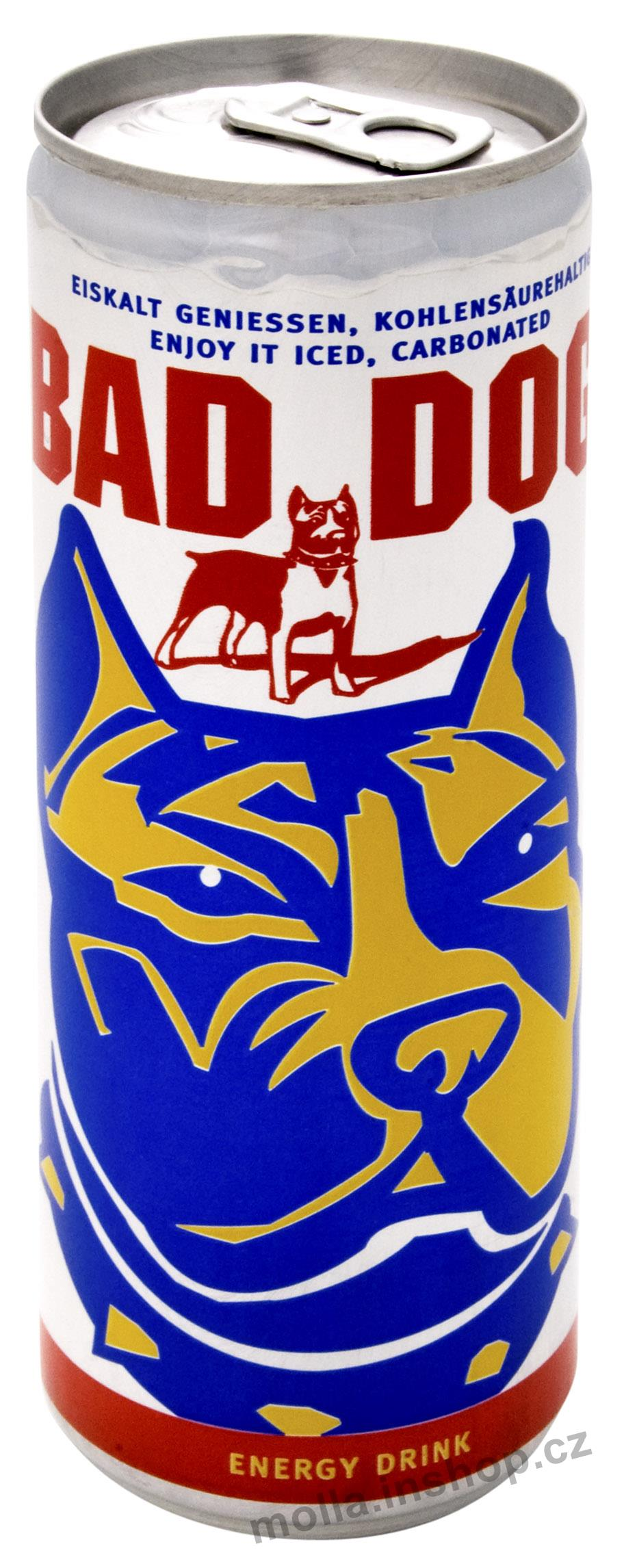 BAD DOG energy drink 0.25l/24